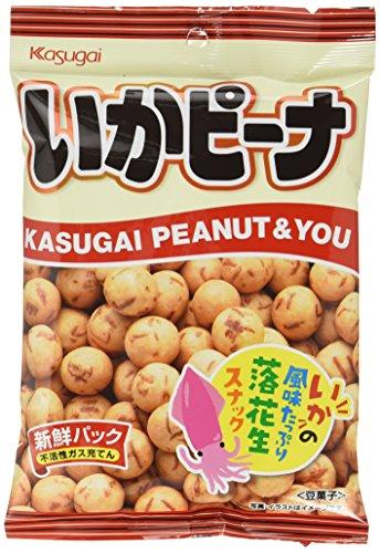 春日井製菓 いかピーナ 85g×12袋