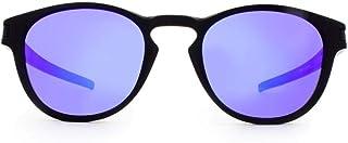 95f660368 Oakley LATCH OO9265L 926506 Preto Lente Espelhada Violeta Iridium Tam 53
