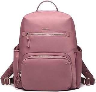 ZNBJBB Backpack Female New Fashion Computer Bag Female Large Capacity Nylon Oxford Cloth Super Fire Backpack (Color : Pin...