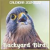 Backyard Birds Calendar 2021-2022: April 2021 Through December 2022 Square Photo Book Monthly Planner Backyard Birds, small calendar