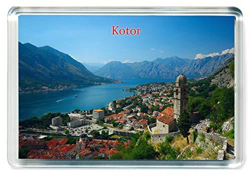 L222 Kotor Fridge Magnet Montenegro Travel Jumbo Refrigerator Magnet