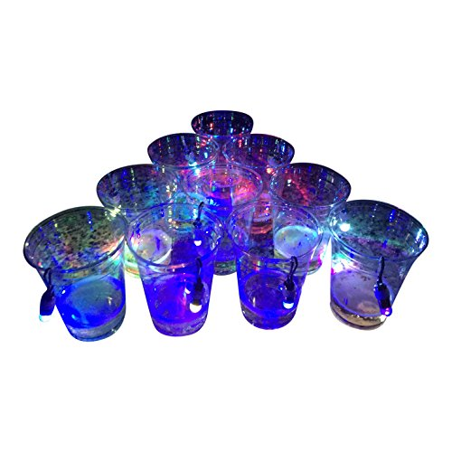 Slip Cup - Midnight Pong: Light Up Beer Pong- It