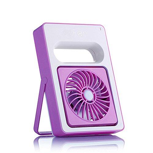 ZIJIFAN Mini USB Ventola Ventilatore Portatile Ricaricabile Piccole ventole Portatile Esterno Ventola Studenti /154x106x31mm