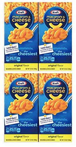 クラフト マカロニ&チーズ チーゼストオリジナル 206g×4個 KRAFT