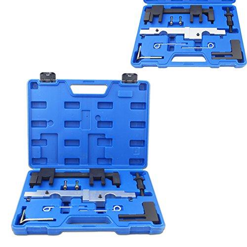 HENGDA® Arretierung Einstellen Nockenwelle Kurbelwelle Set Motor-Einstellwerkzeug Set 8257 BMW N43 E60 E90 E91 E92 120i 320i