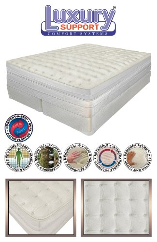 INNOMAX King Size MEDALLION ADJUSTABLE SLEEP AIR BED MATTRESS. Includes Dual Remotes with 50...