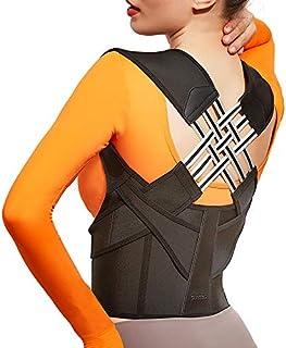 Posture Corrector for Women & Men, Caretras Back Brace & Shoulder Brace with Lumbar Support, Adjustable Breathable Back Su...
