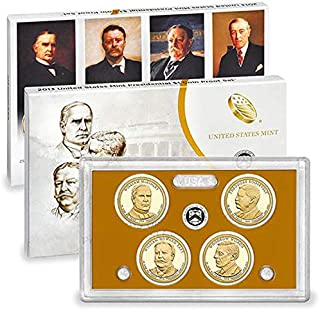 2013 S Presidential 4 Coin Proof Set with Box and CoA Proof