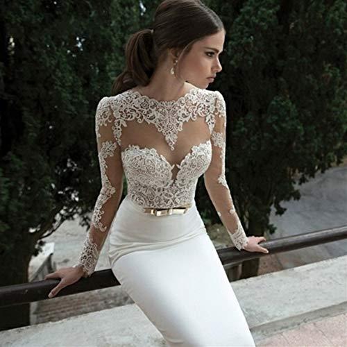 HIN GU - Wedding dress Vestido de novia Vestido de novia de...