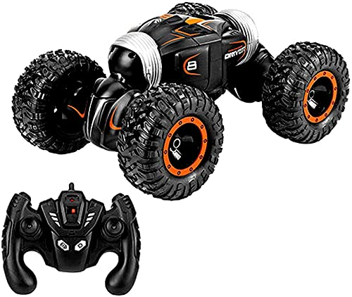 Coches RC, 1:16 Camiones Todoterreno con Control Remoto, orugas con Control Remoto Recargables de 2.4 GHz, 4WD, camión Todo Terreno de Alta Velocidad para Adultos y niños