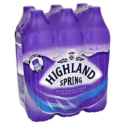Highland Spring Noch Spring Water 6 x 1,5 l
