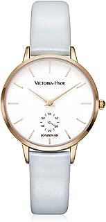 VICTORIA HYDE Women Quartz Wrist Watches with Genuine Leather Strap for Ladies