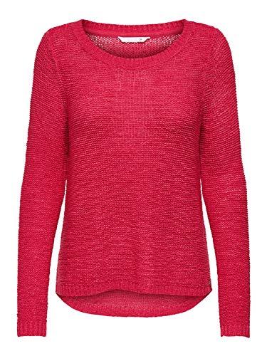 ONLY Damen Pullover onlGEENA XO kaufen - Jeans-Direct.DE, Größe:L, Farbe:Claret Red (15113356)