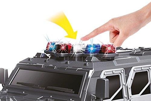 RC Auto kaufen Monstertruck Bild 2: BUSDUGA - 2486 RC Monstertruck Polizei SWAT, 1:12 , RTR, inkl. 13 LED Lichter , Signallichter mit 4 Intervallen*