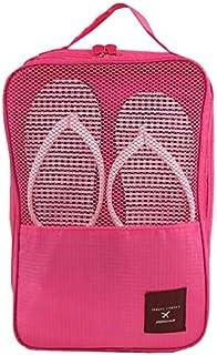 travel portable handle waterproof shoes tote pouch shoe organizer underwear bra socks storage bag shoes bag-XX