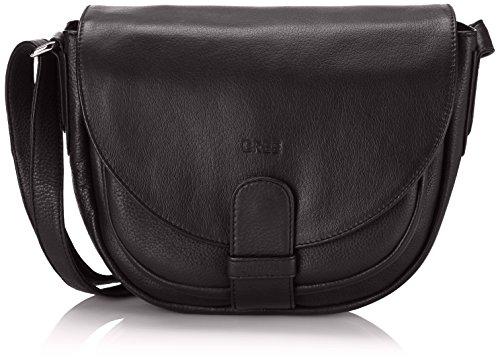BREE Lady Top 2, black, ladies\' handbag 10900102 Damen Henkeltaschen, Schwarz (black 630), 29x20x12 (BxHxT) (Herstellergröße: 33x27x15cm)