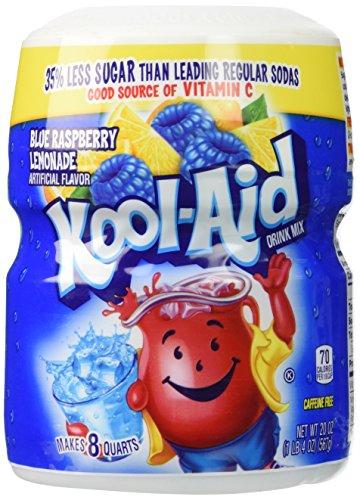 Kool-Aid Ice Blue Raspberry Lemonade Drink Mix