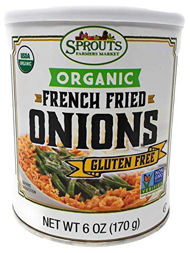 Gluten Free French Fried Onions, 6 Ounce (Pack of 2 (Organic))