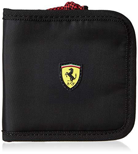 Puma Ferrari Fanwear Wallet, Monedero Unisex Adulto, Black (Negro), Única