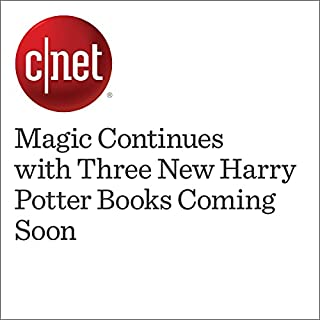 『Magic Continues with Three New Harry Potter Books Coming Soon 』のカバーアート