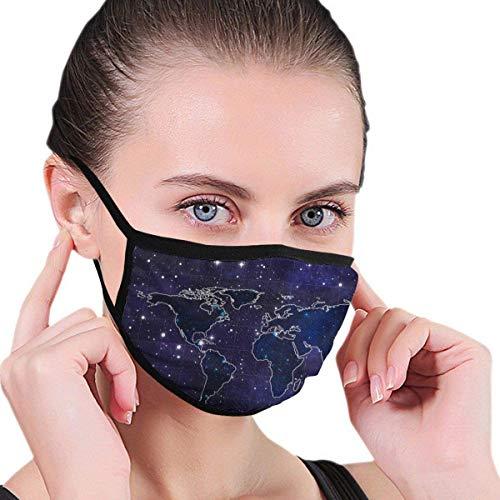 872 Mundschutz mit Unisex-Aufdruck, windabweisende Gesichtsabdeckungen mit Anti-Staub-Waschbarkeit, wiederverwendbar, atmungsaktiv, warm für den Außenbereich