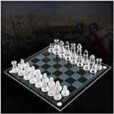 Ajedrez para tablero harry potter viaje Juego de ajedrez Chess Children Games de alta gama Dedicada al aprendizaje Crystal Glass International Chess Puzzle Ajedrez de ajedrez conjunto para niños LPRE