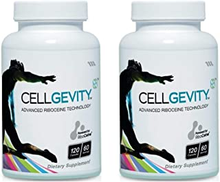 Cellgevity, Advanced Riboceine Technology, 120 Vegetable Capsules, 30 Servings (Pack of 2)