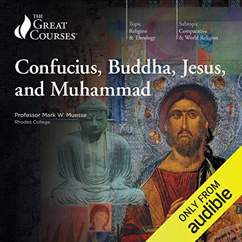 Confucius, Buddha, Jesus, and Muhammad cover art