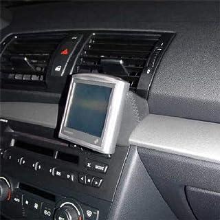KUDA 292480 Halterung Echtleder schwarz für BMW 1er(E87) ab 09/2004 bis 09/201 (Montage unten)