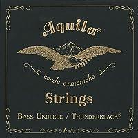 【2セット】Aquila アクイーラ AQ-BUB(140U) THUNDER BLACK ベースウクレレ弦 ウクレレベース用