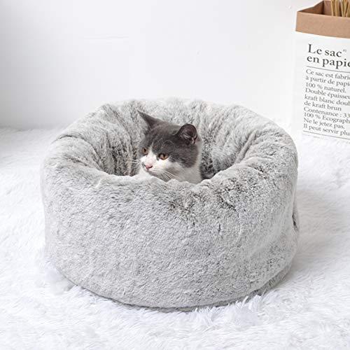 Cama Para Mascotas Para Perros Y Gatos, Casa Redonda Y Cálida, Casa Para Gatos, Sueño Profundo, Suave Y Cómoda, Saco De Dormir, Casa Para Perros Lavable Adecuada Para Perros Pequeños Felpa