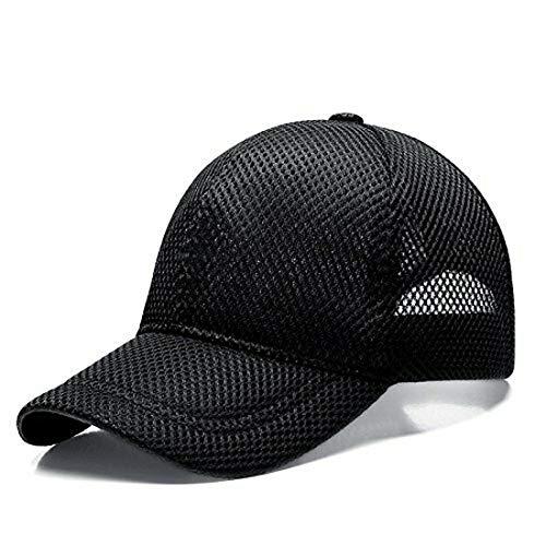 【セット】帽子 メッシュ キャップ 大きいサイズ XXL 63�p 64�p 65�p 66�p 人気cap アウトドア 父の日 ブラック 黒 /SA78-4 (XXL(63-66cm))