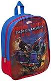 Captain America Cap2-8234 Sac à Dos holographique pour Enfant