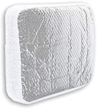 """Cynder 02055 Camper Skylight Cover and RV Vent Insulator with Reflective Surface Shield Fits Standard RV Vents (14"""")"""