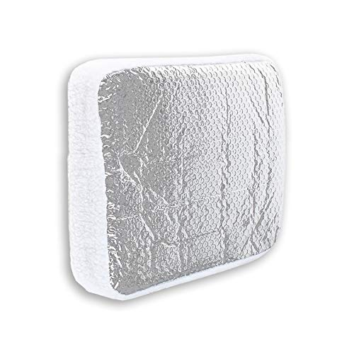 Cynder 02055 Camper Skylight Cover and RV Vent Insulator with Reflective Surface Shield Fits Standard RV Vents (14