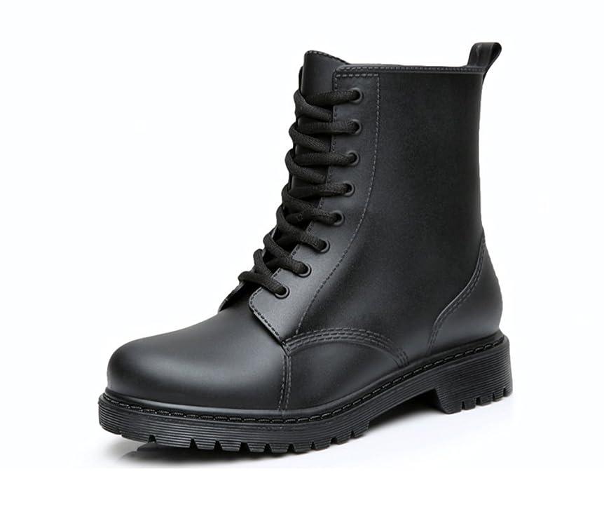 メディカルベルト誠実[NOMSOCR] レインブーツ レディース ショート レースアップ レインシューズ レインブーツショート 雨靴 雨の日対策 長靴 ワークブーツ
