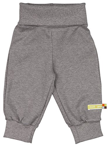 loud + proud Baby-Unisex Hose, Grau (Grey Gr), 80 (Herstellergröße: 74/80)