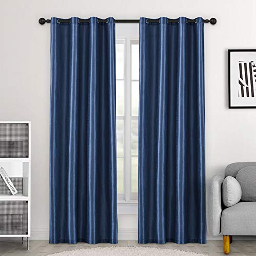 Bolo Cortinas supersuaves con aislamiento térmico plisadas, cortinas opacas para sala de estar, 42 cm de ancho x 84 de largo, 42 cm de ancho x 84 de largo