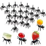 BESTYY Postre de Fruta Palillo de Dientes Forks,48 Piezas Animales Aperitivo Forks Tenedor de Fruta de Niños de Historieta Linda Animales encantadores Selecciones de Frutas Tenedores