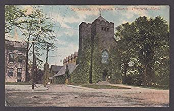 St Stephen's Episcopal Church Pittsfield MA postcard 1909