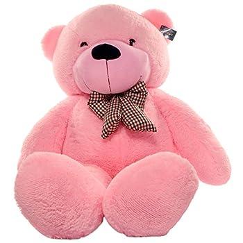 Joyfay Giant Pink Teddy Bear- Big 5 ft  63 inch  Teddy Bear Huge Plush Stuffed Animal Exactly Like Picture Ships Quickly.