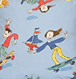 Skateboards Children's, Blau, 100% Baumwolle, Osborne