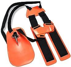 ENHENSTRE Trimmer Shoulder Strap, Weed Eater Strap Trimmer Harness with Enhanced and Durable Nylon Belts Adjustable for String Trimmer Brush Cutter in Garden Lawn