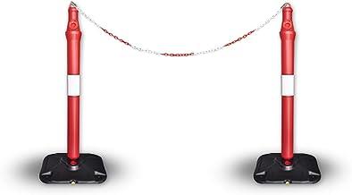 Bariyer Duba 2 ADET Ve 2 Metre zincir ile beraber Takım Sosyal Mesafe (2 Adet)