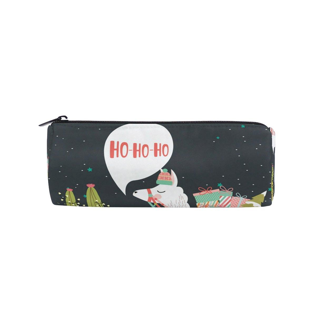 ISAOA - Estuche para lápices, diseño de Alpaca, portátil, redondo, bolsa de almacenamiento para bolígrafos, bolígrafo, soporte adecuado para niños estudiantes o oficiales: Amazon.es: Oficina y papelería
