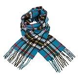 Bufanda de cachemira 100% premium para mujeres y hombres, suave y ligera, escocesa, unisex, gran regalo, disponible en más...