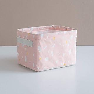 Toilette Ménage Coton Et Lin Panier De Rangement En Tissu Articles De Bureau Divers Boîte De Rangement Jouet Salle De Bain...