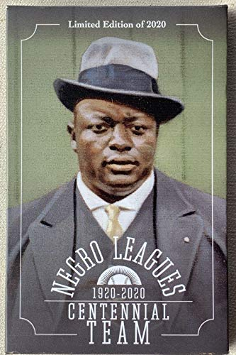 Negro Leagues Centennial Team Limited Edition 34 Postcard Set - Limited to 2,020 - Featuring Baseball Legends Including Satchel Paige, Josh Gibson, Cool Papa Bell, Buck Leonard, Rube Foster and More