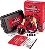 PROREADY Tire Deflator Kit with Gauge - 0-75 PSI - Air Pressure Gauge with Plastic Case - Our Handheld Low...