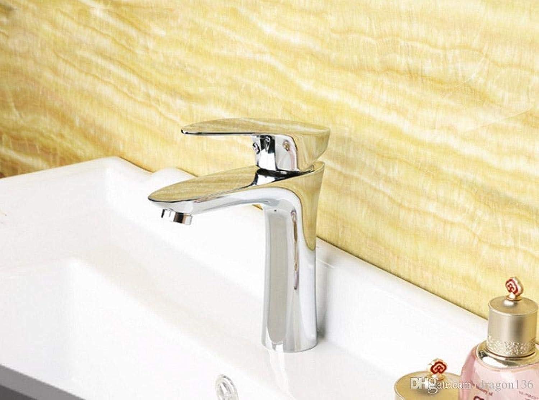 Oudan Brass Deck Mountain Basin Faucets Tap Vanity Vessel Sink Mixer (color   -, Size   -)
